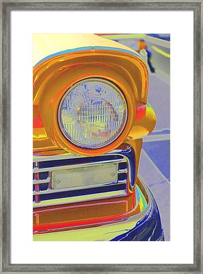 Framed Print featuring the photograph Retro Auto Two by Denise Beverly