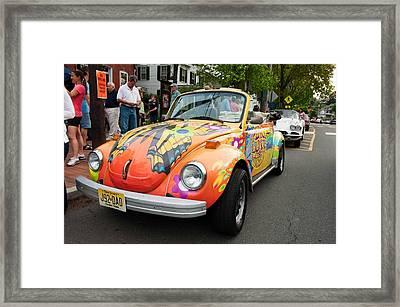Retro Bug Framed Print