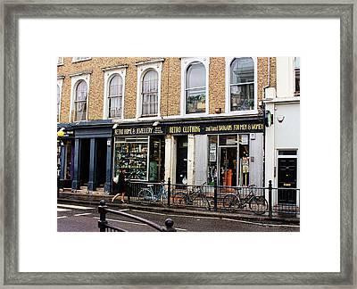 Retro Clothing Framed Print by Nicky Jameson