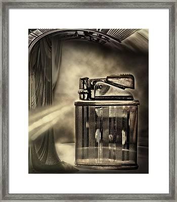 Retro Deco Framed Print