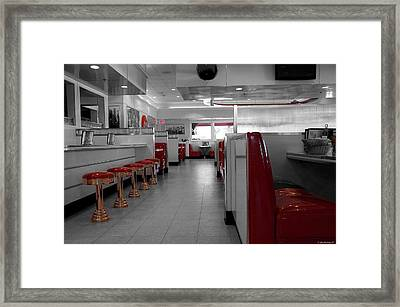 Retro Deli Framed Print by Glenn McCarthy Art and Photography