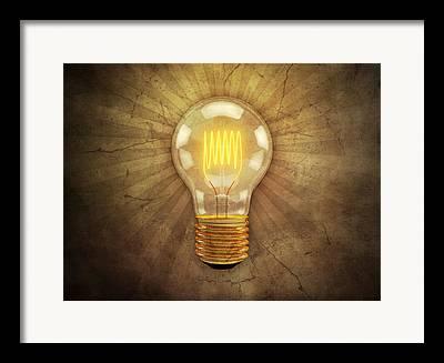 Illuminate Digital Art Framed Prints