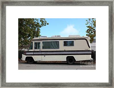 Retro Recreational Vehicle Rv 5d25258 Framed Print by Wingsdomain Art and Photography