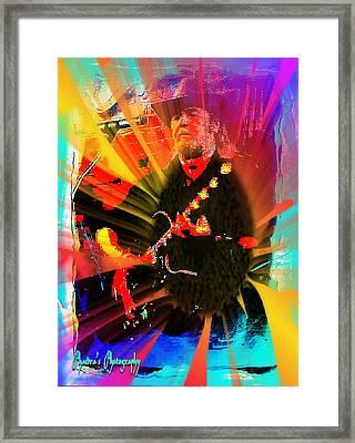 Retro Rocker Framed Print by Sadie Reneau