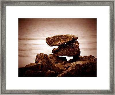 Retro Rocks Framed Print