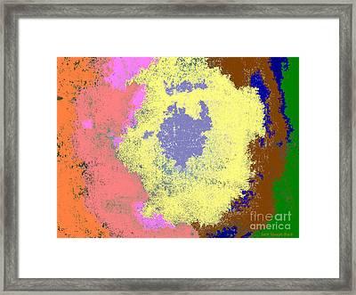 Retro Tie Dye Framed Print by Joseph Baril
