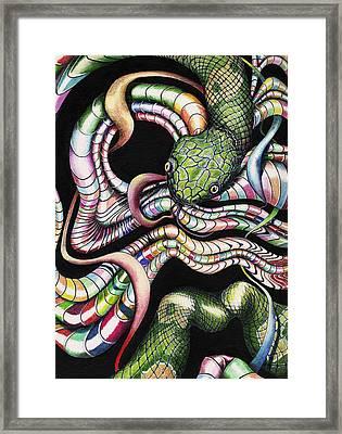 Retro Zeitgeist Framed Print