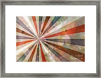 Retrodynamics Framed Print by Lutz Baar
