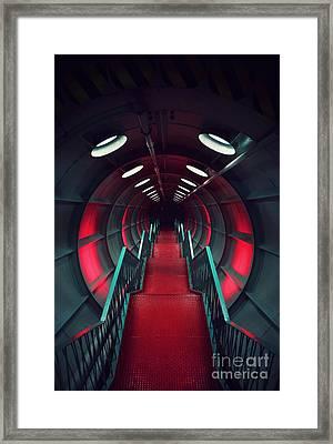 Retropolis Framed Print by Magda Lates