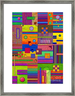 Retrospect Framed Print by David K Small