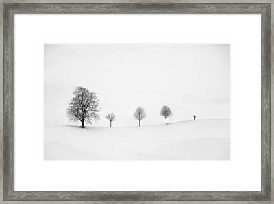 Return As Always Framed Print