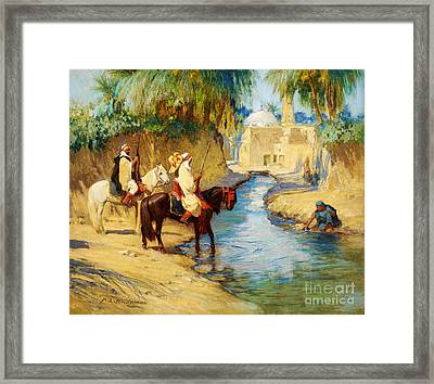 Return From The Hunt Framed Print by Celestial Images