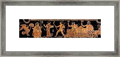 Return Of Hephaistos - Detail No. 1 Framed Print