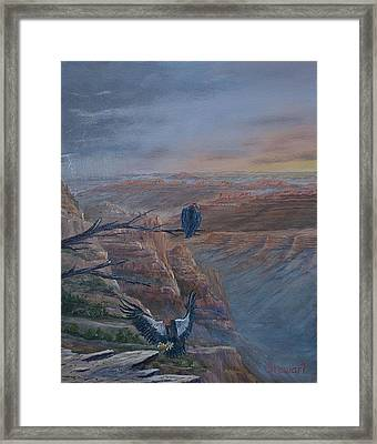 Return Of The Condor Framed Print