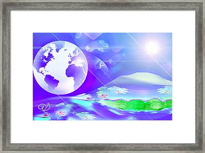 Return Of The Dream Time Framed Print
