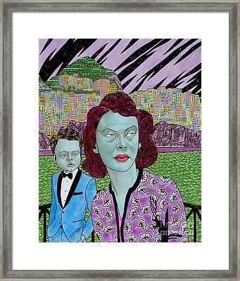 Return Of The Green Lady Framed Print by Alan Morrison