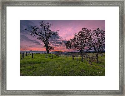 Return Of The Green Framed Print