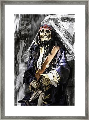 Return Of The Pirate Framed Print by LeeAnn McLaneGoetz McLaneGoetzStudioLLCcom
