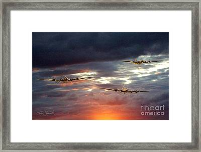 Return Of The Three Framed Print