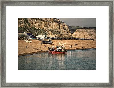 Return Framed Print by Sharon Lisa Clarke