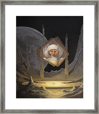 Return To Observation Post 38 Framed Print by Charles Fennen