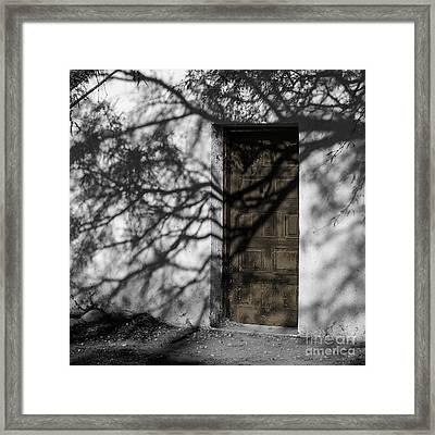 Return To The Past - Tumacacori Framed Print