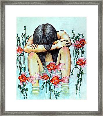 Return To The Universal Principle Of Purity  Framed Print by Paulo Zerbato