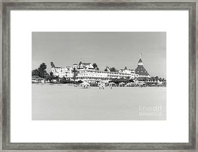 Returning From The Beach 2005 Framed Print