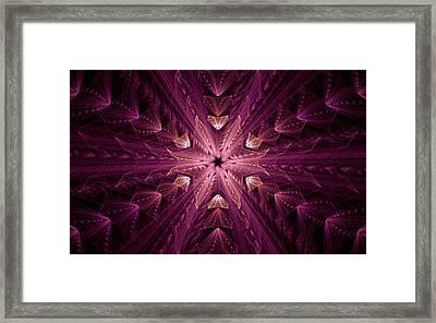Framed Print featuring the digital art Returning Home by GJ Blackman