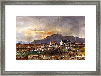 Returning Home In Achill Framed Print