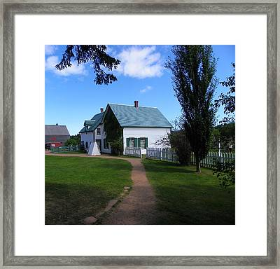 Returning To Green Gables Framed Print