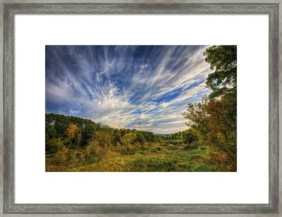 Retzer Nature Center - Waukesha Wisconsin Framed Print
