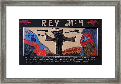 Rev 21  4 Framed Print