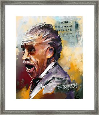 Rev Al Framed Print