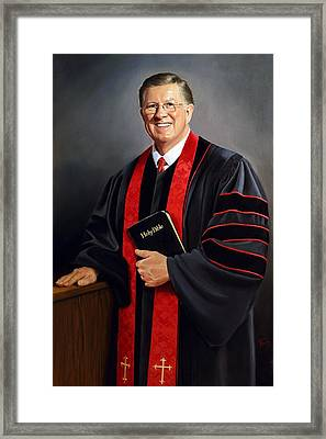Rev Guy Whitney Framed Print by Glenn Beasley