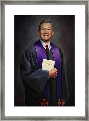 Rev Jack Wilson Framed Print