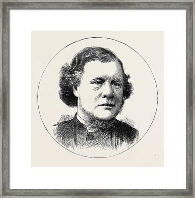 Rev. William Morley Punshon Framed Print