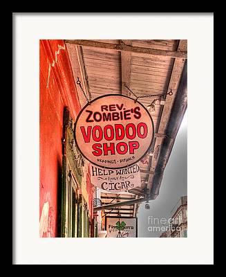 Voodoo Shop Framed Prints