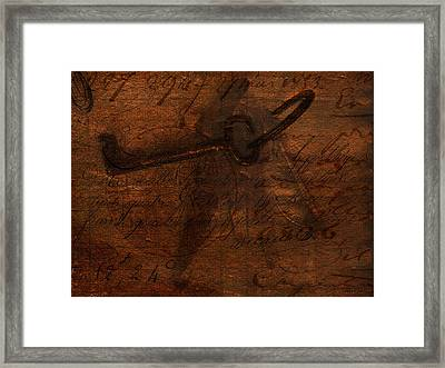 Revealing The Secret Framed Print