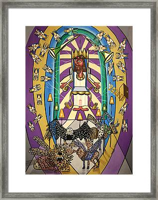 Revelation Chapter 4 Framed Print