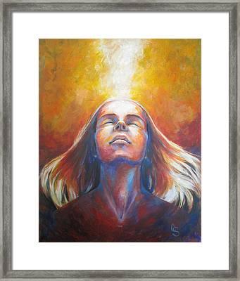 Revelation Framed Print by Tamer and Cindy Elsharouni