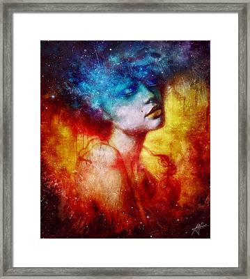 Revelation Framed Print by Mario Sanchez Nevado