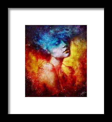 Galaxy Framed Prints