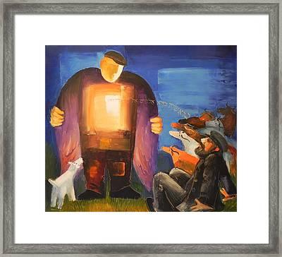 Revelation Framed Print by Mikhail Zarovny
