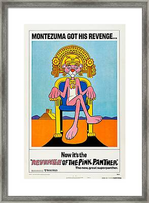 Revenge Of The Pink Panther, Us Poster Framed Print by Everett