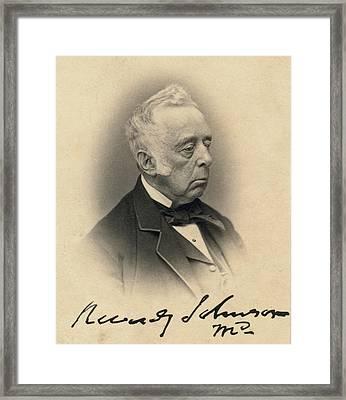 Reverdy Johnson, Attorney General Framed Print by Everett
