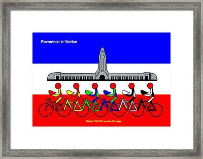 Reverence In Verdun Framed Print