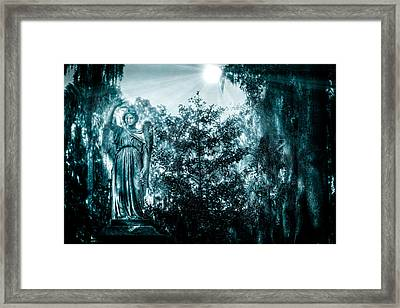 Reverence Framed Print by Mark Andrew Thomas