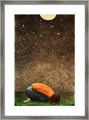 Reverence Framed Print by Michelle Berger