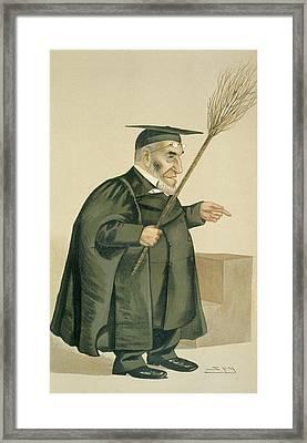 Reverend James Leigh Joynes Framed Print by Leslie Matthew Ward